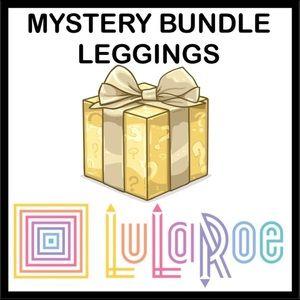 NEW! 3 LEGGINGS LuLaRoe BUNDLE OS OR TC LEGGINGS
